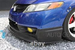Mugen V3 Front Lip Fits 2009 2010 2011 Honda CIVIC 4dr