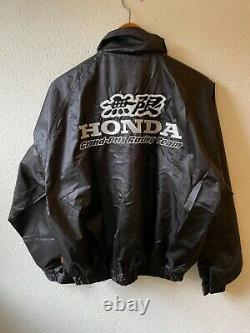 Mugen Windbreaker Jacket Rare Honda Civic Racing Spoon S2000 NSX Type R Dc2 DC5