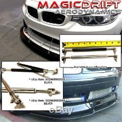 NEW MU MUGN Si Front Bumper Lip Urethane Plastic for 06-08 Honda Civic 4D Sedan