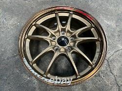 New 17 inch Mugen MF10 wheel (4 pcs) Honda Civic Accord CRV Odyssey 5x114.3