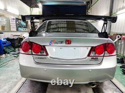 New For Honda 8th CIVIC Fd Series Mugen Gt Style Rear Wing Spoiler Unpainted