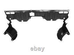Pair Of Front Fender Liners + Engine Splash Guard For 2006-11 Honda Civic Coupe