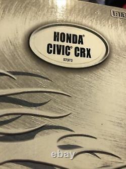 RARE Hot Wheels TUNERZ Honda Civic CRX 118 SCALE MUGEN BODY KIT Jdm Diecast