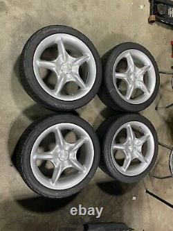RARE JDM MUGEN WHEELS RG 16x7 4x100 & 4x114.3 Honda Civic integra JDM Volk Spoon