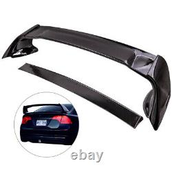 Rear Trunk Spoiler Wing Lip Unpainted for Honda Civic 06-11 Mugen style RR 4DR
