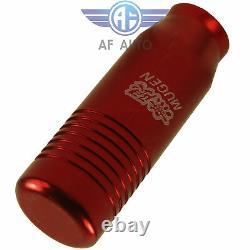 Red MT Manual Transmission Stick Shifter Short Shift Knob 5 6 Speed For Honda