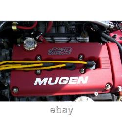 Red MUGEN Racing Rocker Valve Cover for Honda Civic B16 B17 B18 VTEC B18C GSR