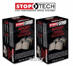 Stoptech Sport Front + Rear Brake Pads 2006-2011 Honda Civic Si K20Z3 FA5 Mugen