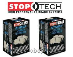 Stoptech Street Front + Rear Brake Pads 2006-2011 Honda Civic Si K20Z3 FA5 Mugen