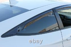 Window Visor Mugen style for 2016 2017 2018 2019 Honda Civic 2 door coupe (4pcs)