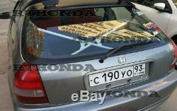 X-Bar Bar Rear Crossbar for 96-00 Honda Civic 3dr EK Typer-R Spoon Mugen Cusco